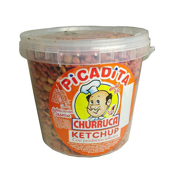 Frutos secos con sabor a Ketchup