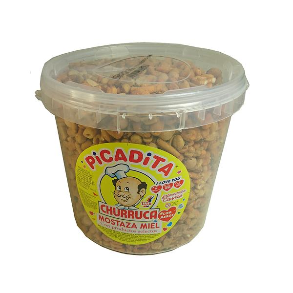 Frutos secos sabor mostaza miel Churruca